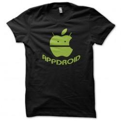 t-shirt appdroid black...