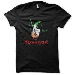 tee shirt krusty the clown...