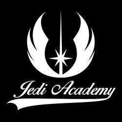 t-shirt jedi academy black sublimation