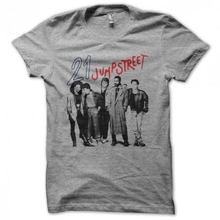 Tee shirt 21 Jumpstreet gris sublimation