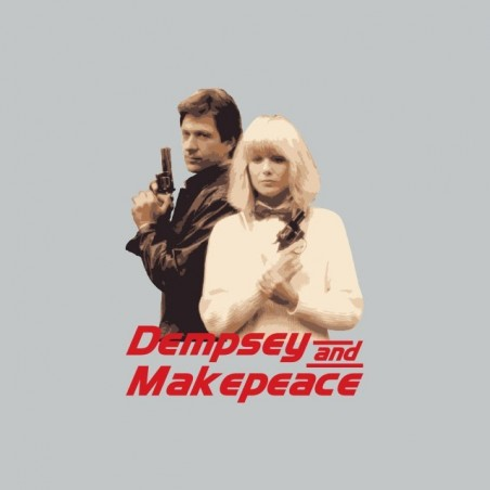 T-shirt Dempsey and Makepeace gray sublimation