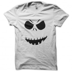ghost scary t-shirt white sublimation