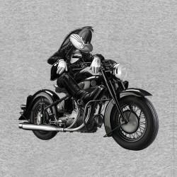 t-shirt Bugs Bunny biker gray sublimation