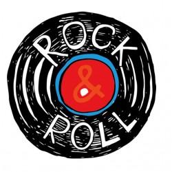 Rock N Roll white...