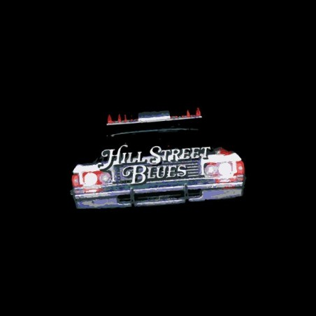 Hill Street Blues Captain Furillo black sublimation t-shirt