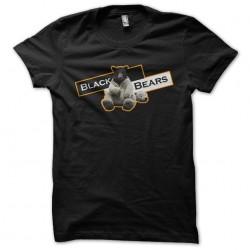 t-shirt black bears black...
