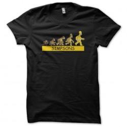 tee shirt evolution homer...