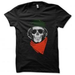 t-shirt biker skull black...