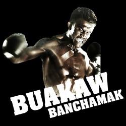 Buakaw banchamak t-shirt black sublimation