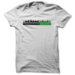 green city in charge t-shirt white sublimation