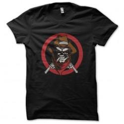 tee shirt skull cowboy...