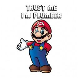 t-shirt mario bros Trust me...