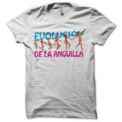 El estilo evolución t-shirt by Peter La Anguila white sublimation
