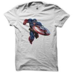tee shirt Captain america  sublimation