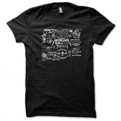 tee shirt metal rock groupe...