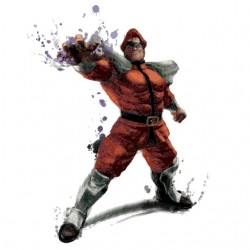Mr. Bison Streetfighter...