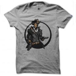 tee shirt cowboy gris...