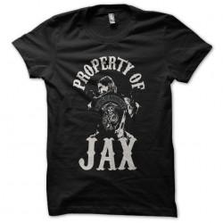 t-shirt property of jax...