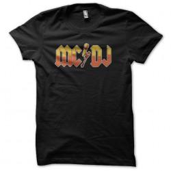 tee shirt mc dj black...