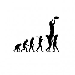 tee shirt rugby evolution...