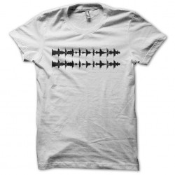 Tee shirt Techno Onde Sonore  sublimation