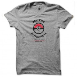 tee shirt Maitre pokemon...