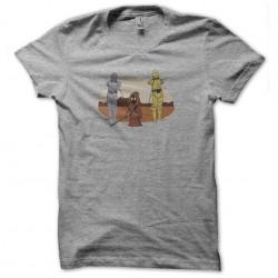 tee shirt c3po captif gris...