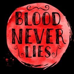 Dexter Blood Tee Shirt Never lie BLACK Sublimation