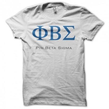 T-shirt brotherhood Phi Beta Sigma white sublimation