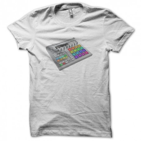 Techno Maschine NI MK2 T-Shirt white sublimation