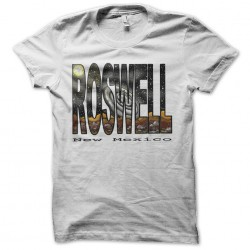 t-shirt roswell new mexico white sublimation