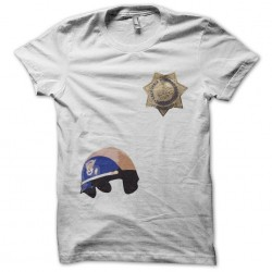 Tee shirt Chips Highway Patrol  sublimation