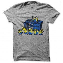 minions doctor who gray...