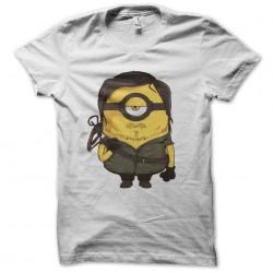 tee shirt daryl dixon parody minion white sublimation