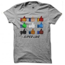 tee shirt Super Like...