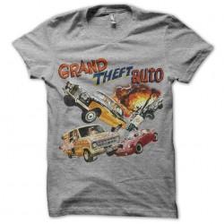 tee shirt GTA Origin gris...
