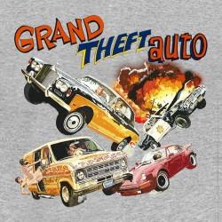 tee shirt GTA Origin gris sublimation