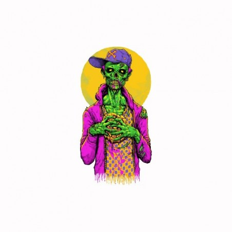 Tee shirt Zombie swag Hip hop  sublimation