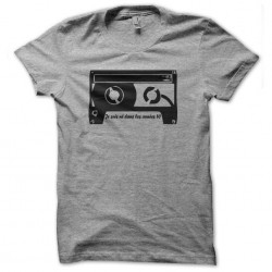 gray 80s sublimation t-shirt