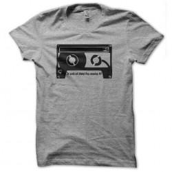 tee shirt cassette années...