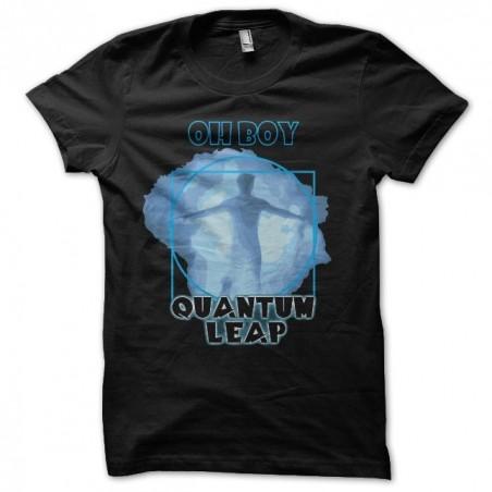 Quantum Leap Oh Boy t-shirt black sublimation