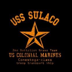Alien T-Shirt USS SULACO black sublimation