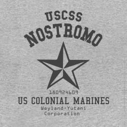 Alien Uscss T-Shirt Nostromo GRIS sublimation