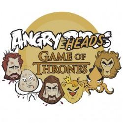 angry heads shirt fashion...