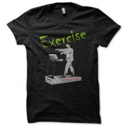 t-shirt zombie exercise...