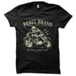 t-shirt Rebel brand black...