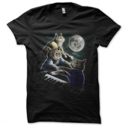 tee shirt the pianists cats...