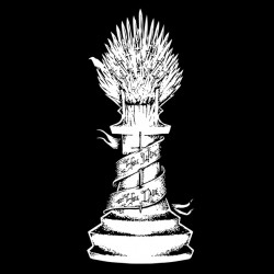 game of thrones t-shirt black sublimation