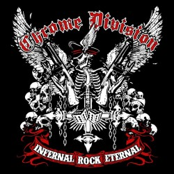 tee shirt chrome division infernal rock eternal  sublimation
