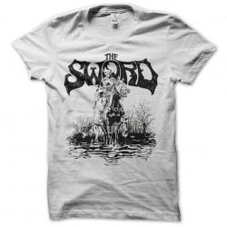 sword white sublimation tee...